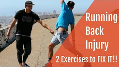Back Injury in Runners: 2 Exercises to FIX it!