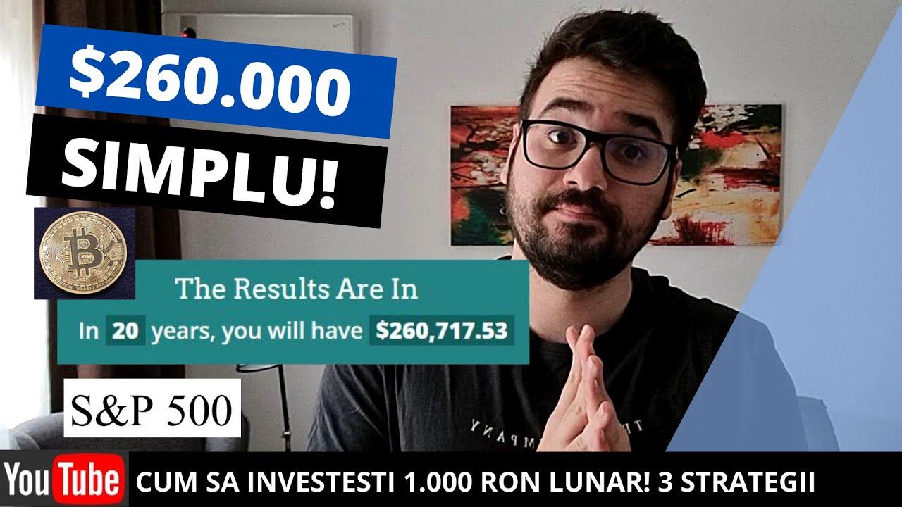 cel mai bun mod de a câștiga bani de la domiciliul românia strategii de investiţii crypto