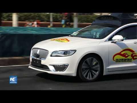 Beijing emite una licencia de prueba de carretera para auto sin conductor