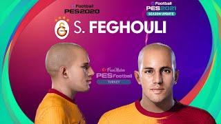 PES 2021 Sofiane FEGHOULI Face Galatasaray PES 2020