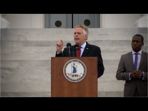 Governor McAuliffe Restores Rights to 200K Virginians