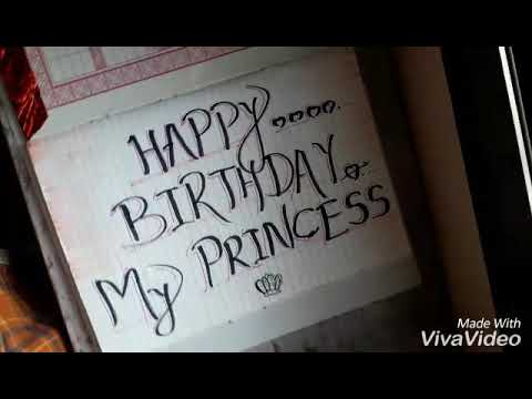 Long distance relationship surprise BIRTHDAY wishes by girlfriend