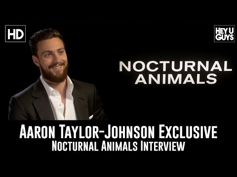 Thumbnail: Aaron Taylor-Johnson Exclusive Interview - Nocturnal Animals