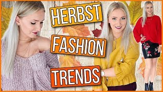 DIE 8 WICHTIGSTEN HERBST/WINTER FASHION TRENDS + TRY ON HAUL! TheBeauty2go