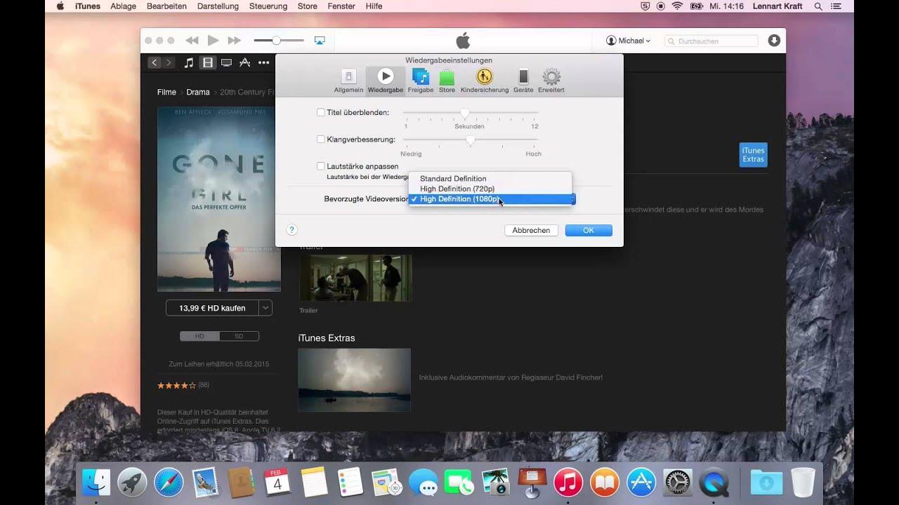 c7dc04a85dd OS X Anleitung  Hochauflösend Filme Serien iTunes Store HD ...