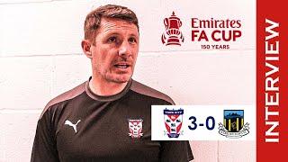 💬 York City 3-0 Hebburn Town | Micky Cummins Post-Match