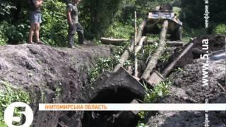 Залишки танка Т-34 знайшли на Житомирщині