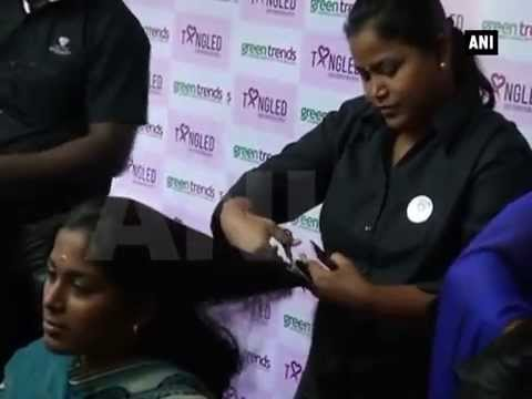 Coimbatore students donate hair to help cancer patients get wigs ... f8e94c566
