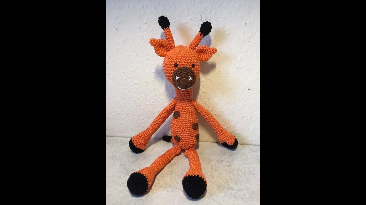 Amigurumi Funny Giraffe pattern. Crochet pattern. Amigurumi safari ... | 720x1280