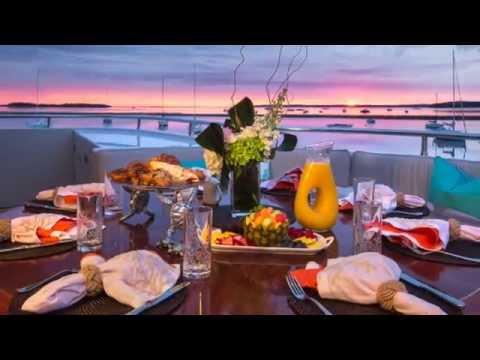 Luxury charter yacht RHINO with Churchill Yacht Partners
