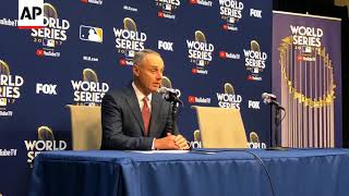 Rob Manfred Announces Suspension for Gurriel