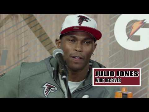 Comedian JB Smoove Interviews The Atlanta Falcons