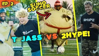 T Jass vs 2HYPE In SUMO SOCCER! Most INSANE Game Ever! Overtime TRASHES $5 Million Mansion 💰