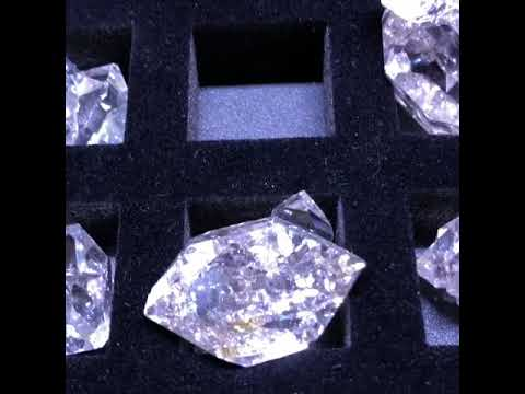 Herkimer Diamond Mine Owners at the Tucson Gem Show