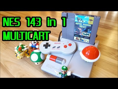 NES Multicart 143 of the best games review