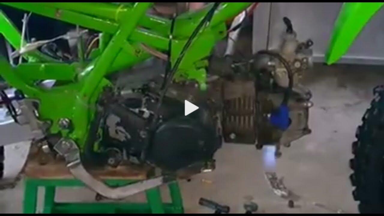 Honda Wave 125 Home Made Cdi Over Retard