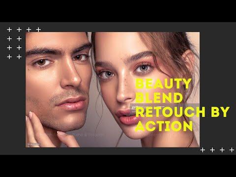 [ TUT ] Hướng Dẫn Dùng Action  Làm Mịn Da Beauty Trong Photoshop Cực Nhanh
