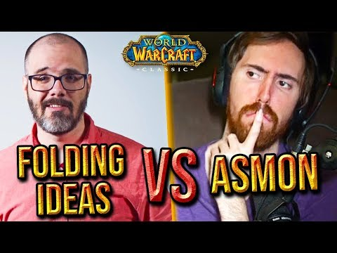 """Asmongold Comments On """"Folding Ideas"""" Classic WoW In-Depth Analysis"""