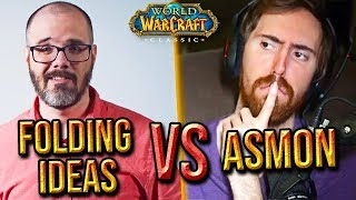 "Asmongold Comments On ""Folding Ideas"" Classic WoW In-Depth Analysis"