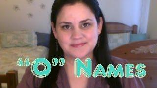 """""""O"""" Baby Names"""