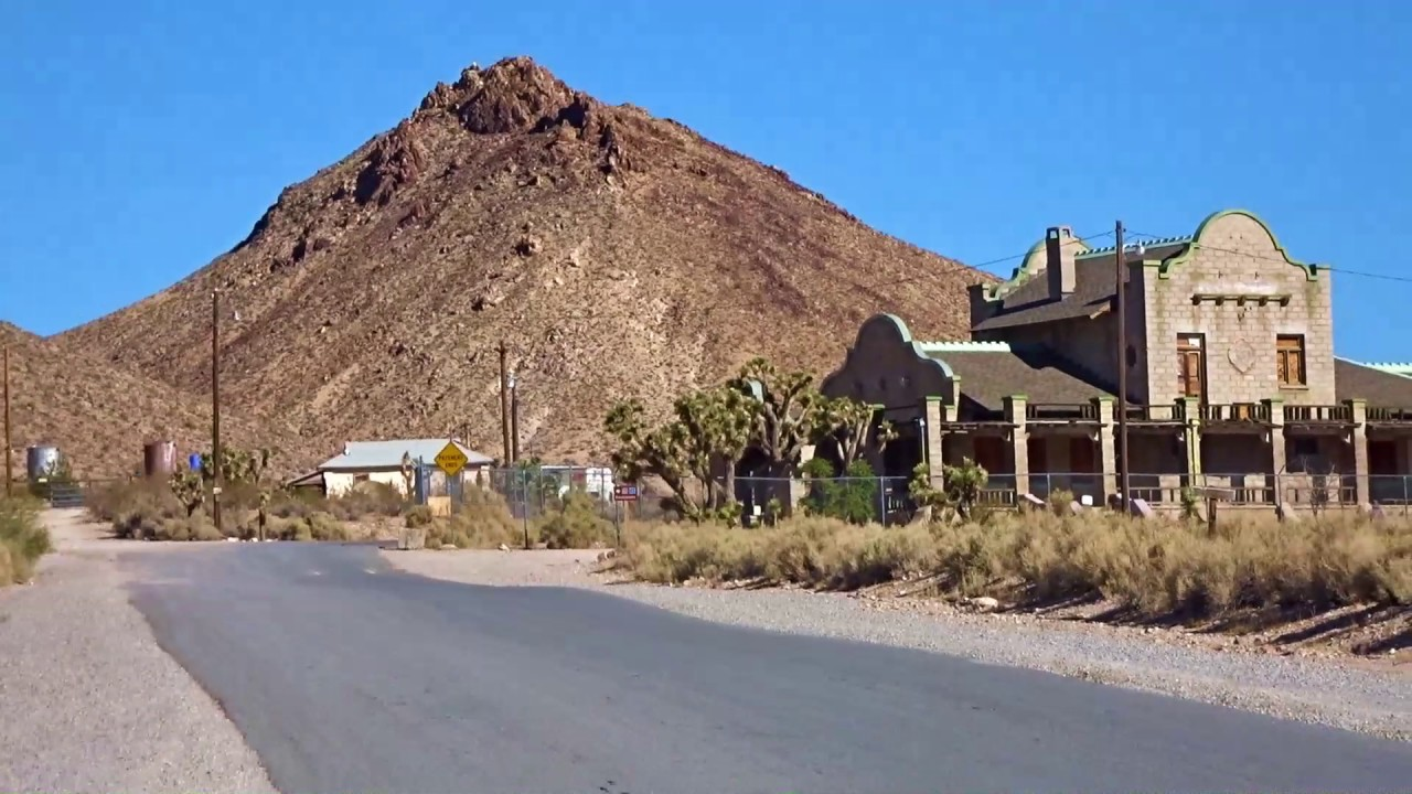 Rhyolite Ghost Town Nevada
