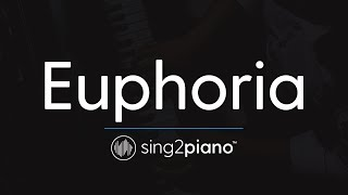 Euphoria (Piano Karaoke Instrumental) BTS - ROMANIZED
