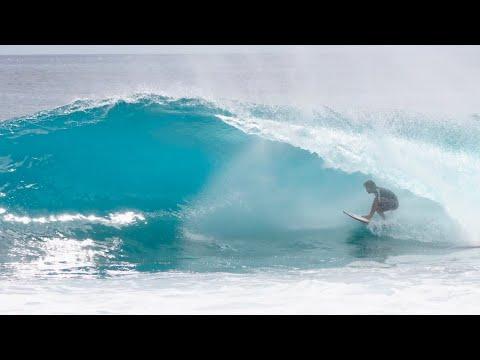 Mini Surfboard On The Reef - Mason Ho & Sheldon Paishon