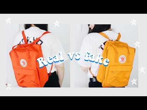 🔥Real Vs Fake 🔥Fjallraven Kanken | Back To School