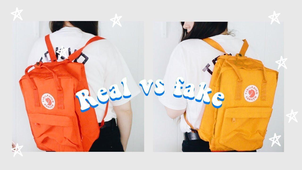 genuine fjallraven kanken backpack 16L