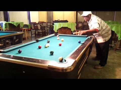 Pool tricks: Chapel Hill, Tx. pool shark..