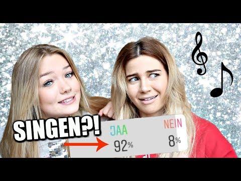 SINGEN?!!! - INSTAGRAM bestimmt was wir TUN!! mit Juliabeautx