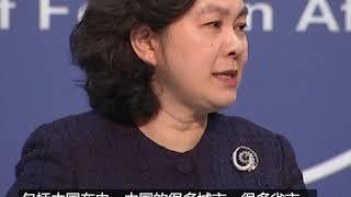 华春莹:台湾别想借疫情搞政治操弄
