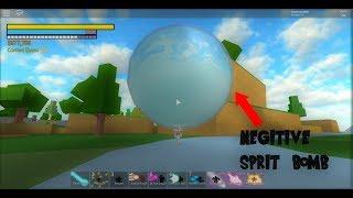 Roblox Final Stand Dragon Ball z Final stand - Negative spirit bomb Glitch