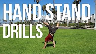 Learn How To Improve Your Hand Stands | Hand Stand Drills