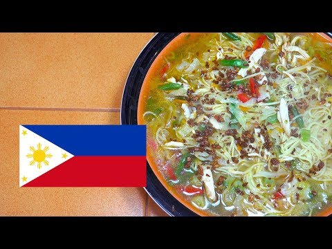 Chicken Noodle Soup - Filipino Recipes - How to make Chicken Noodle Soup - Chicken Soup - Tagalog