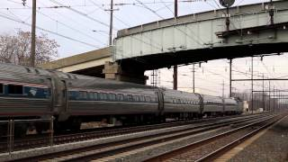 Amtrak Northeast Corridor Thanksgiving Sunday 2013 - Part 2
