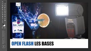 cours photo open flash photographie  haute vitesse