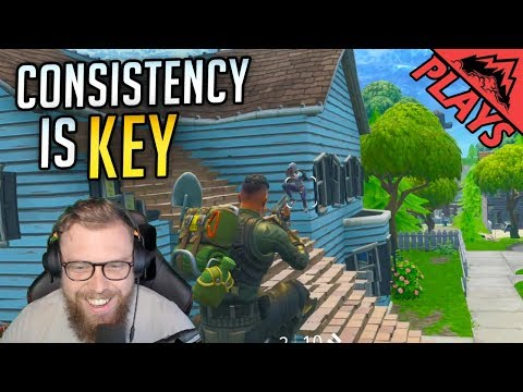 Consistency Is Key - Fortnite Gameplay #59 (Squads StoneMountain64)