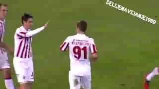 143 derbi  Crvena zvezda   Partizan 3 2   Tri poljupca hocu ja ! 17 11 2012 1