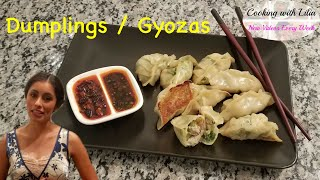How to Make Dumplings - Fried and Steamed Potstickers Recipe - Gyoza Recipe