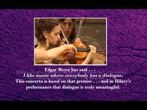 Tribute to HILARY HAHN and EDGAR MEYER - wonderful music