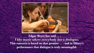 Tribute to HILARY HAHN and EDGAR MEYER - wonderful music