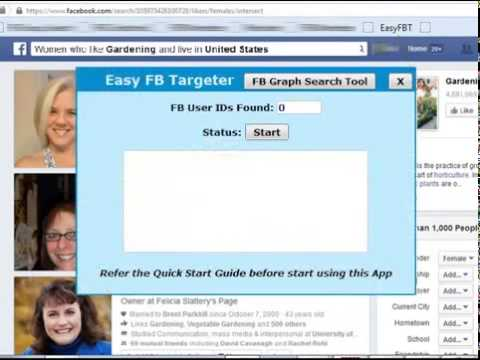 How to get targeted traffic on facebook – Facebook marketing tool – Easy FB Targeter