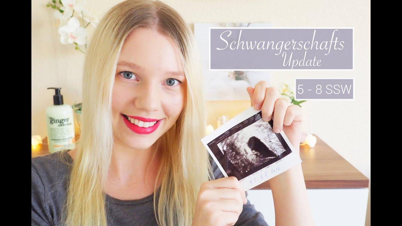 schwanger   ssw erster ultraschall herzchen