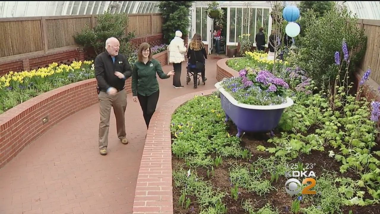 Doug Oster Tours Phipps Spring Flower Show Youtube