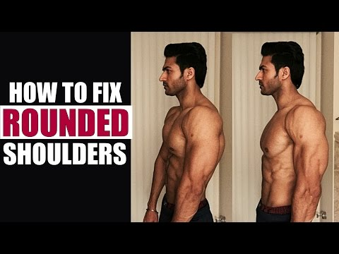 How to FIX the Rounded Shoulders for Perfect Posture | Info by Guru Mann