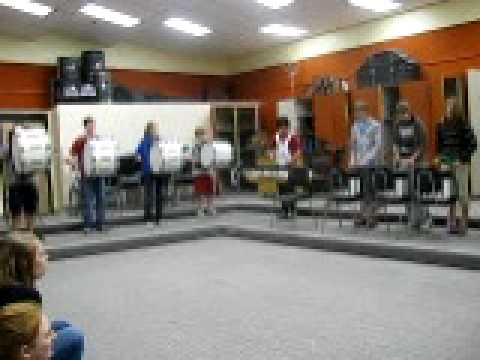 Fergus High School Percussion Ensamble #4