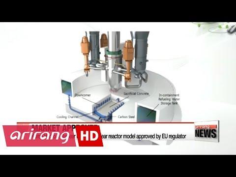 Korea's latest nuclear reactor model approved for European market