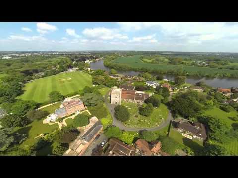 DJI F550 Drone Over Bray, Berkshire