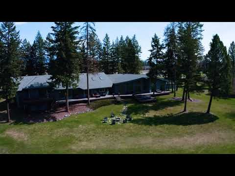 Montana Waterfront Property For Sale.  #whitefish River Frontage